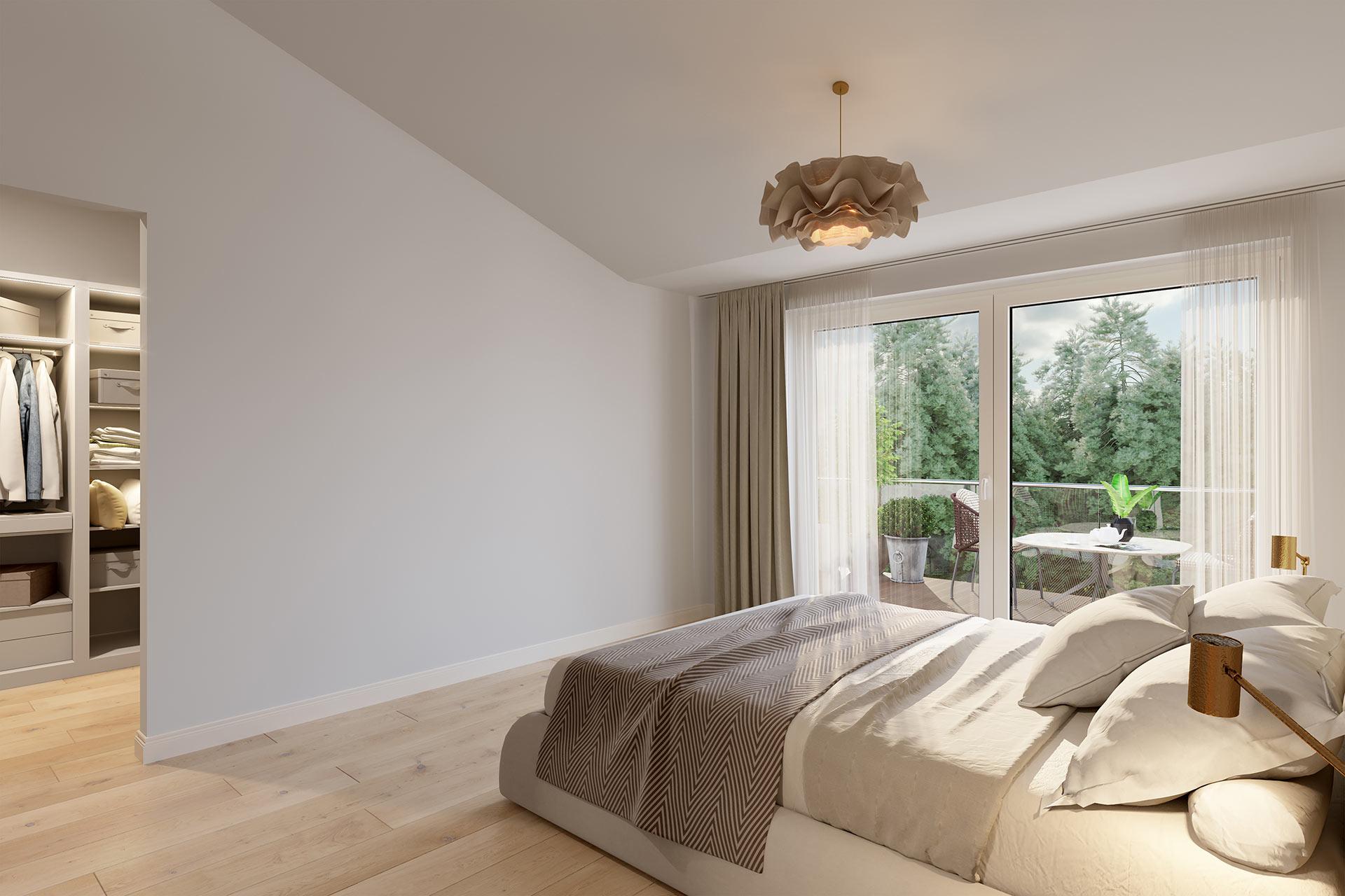 Schlafzimmer Visualisierung Berlin