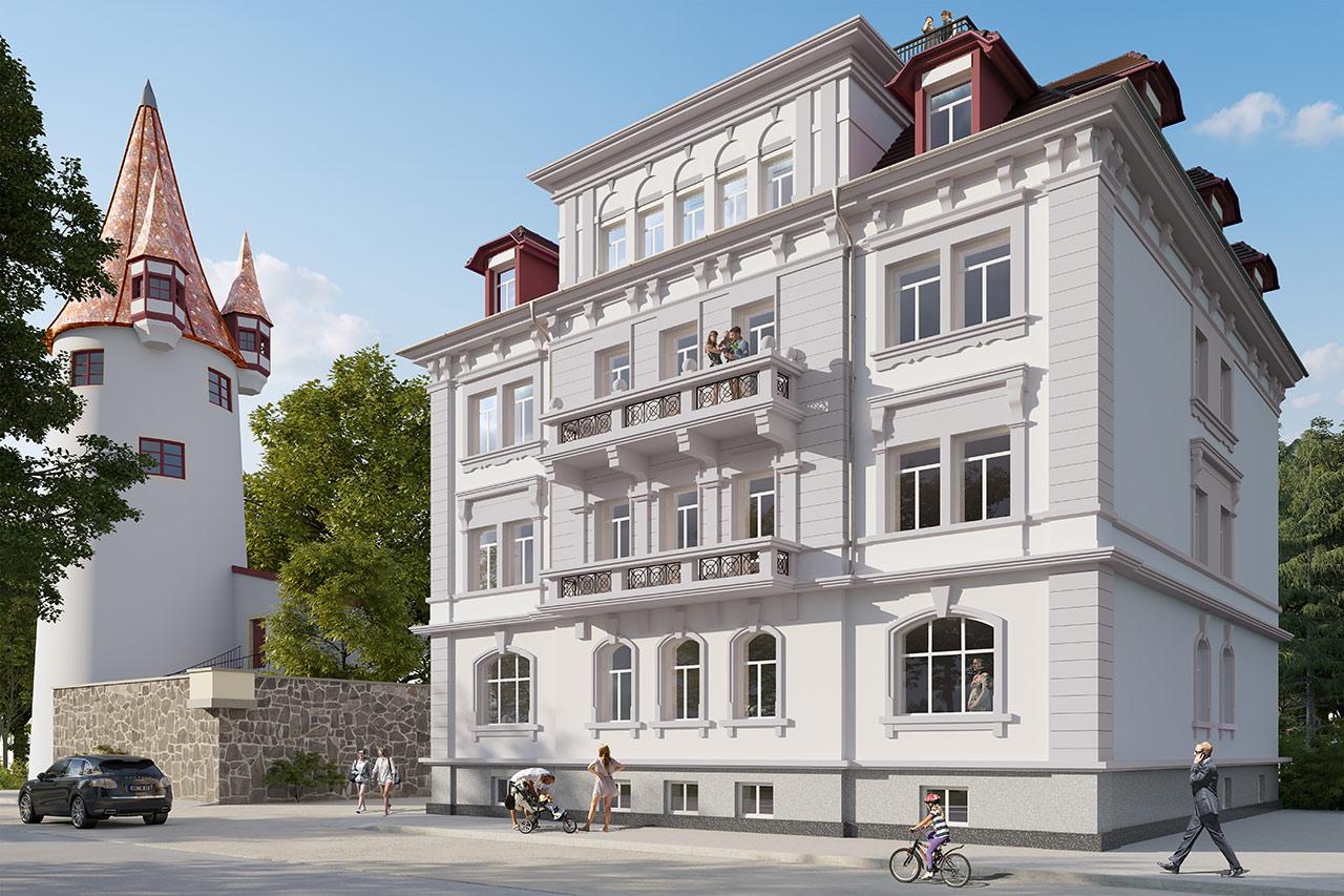 Architekturvisualisierung Bodensee