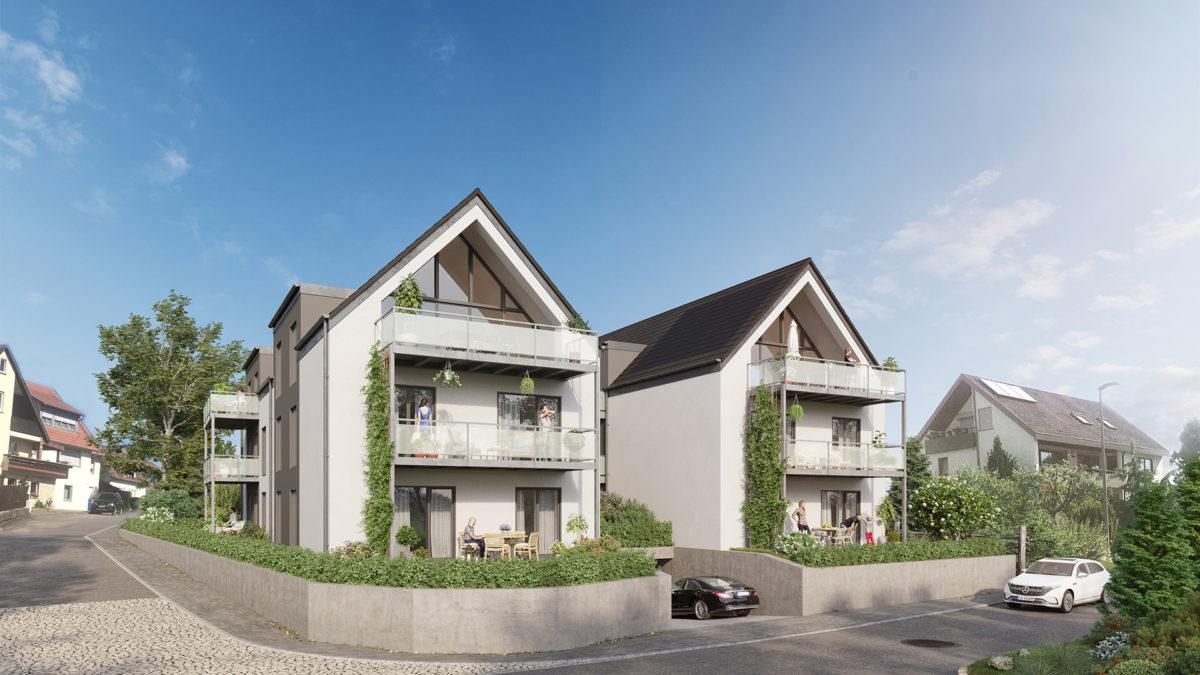 Stuttgart Architekturvisualisierung