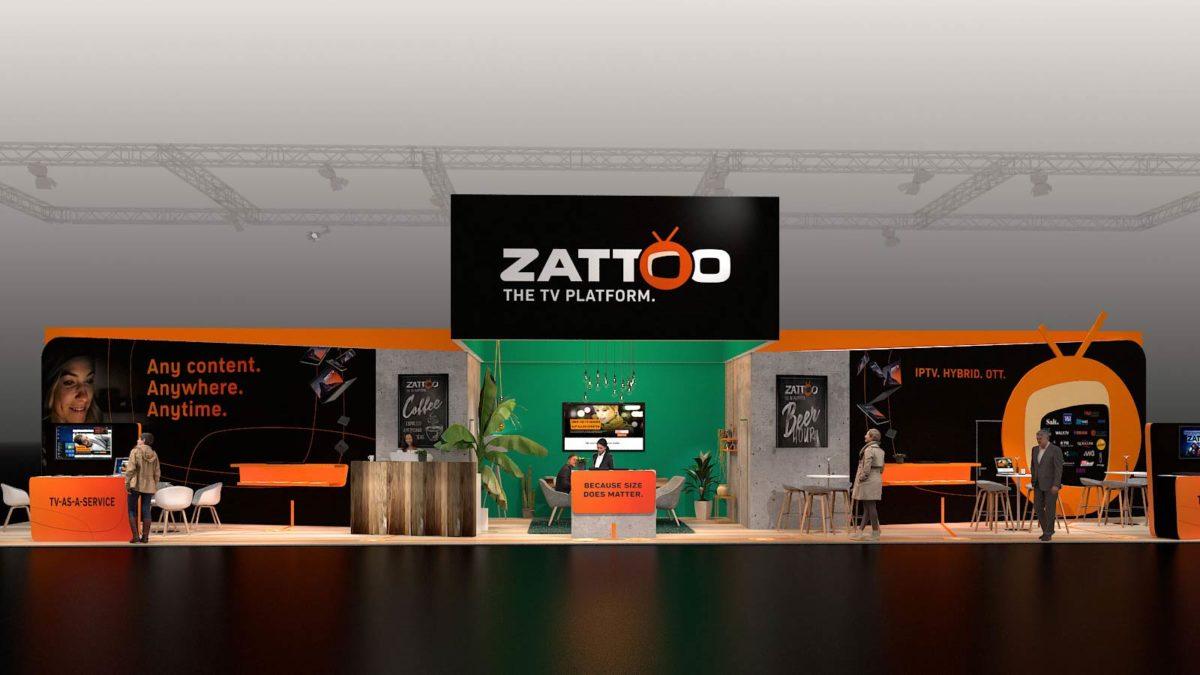 Zattoo Messestand