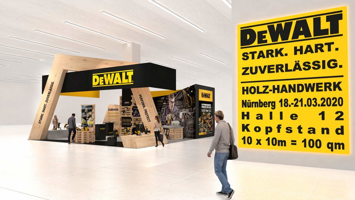 DeWalt Messestand