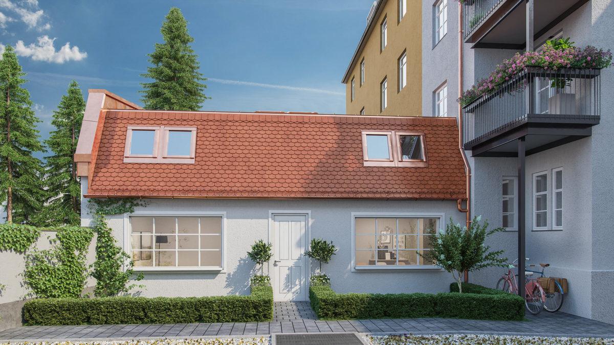 3d Visualisierung Stadthaus München