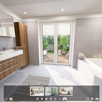 Portfolio Badezimmer 360°