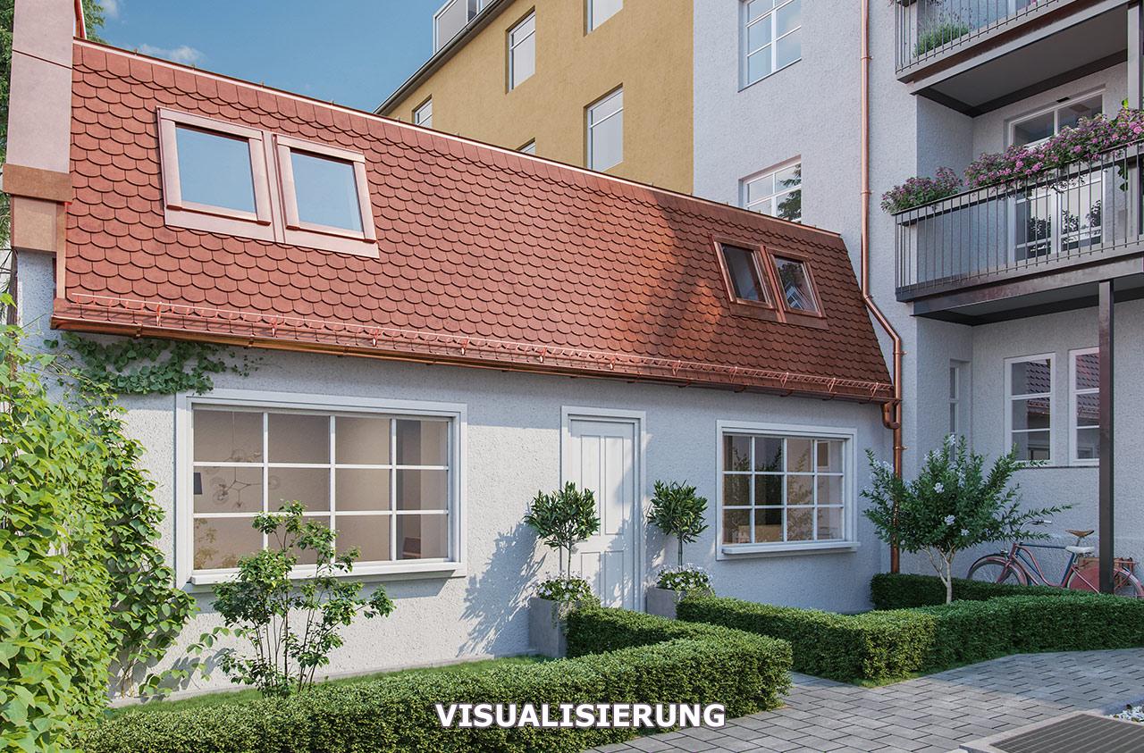 Visualisierung Altbausanierung München